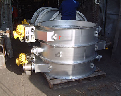 Isolation Dampers (Twin Vented-Seal, Air Barrier)