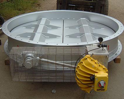 Twin Vane, Flow Control Dampers